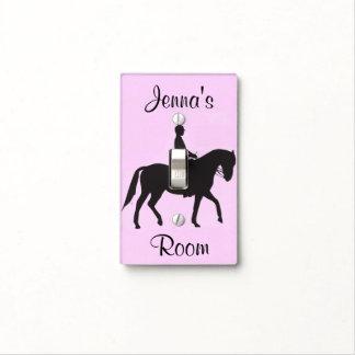 Equestrian Design Light Switch Cover