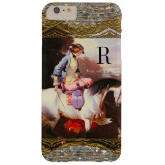 Equestrian Elsa  Monogram Barely There iPhone 6 Plus Case