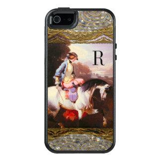 Equestrian Elsa V Personalized Monogram OtterBox iPhone 5/5s/SE Case