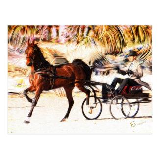 Equestrian | Flames Postcard