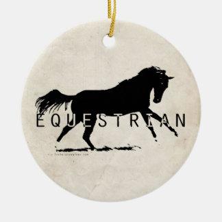 Equestrian Horse Ceramic Ornament