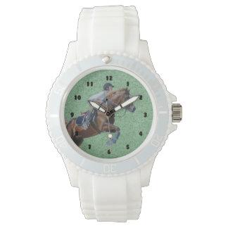 Equestrian Horse Jumper Watch