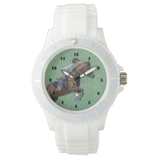 Equestrian Horse Jumper Wrist Watches