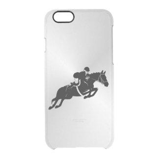 Equestrian Jumper Clear iPhone 6/6S Case