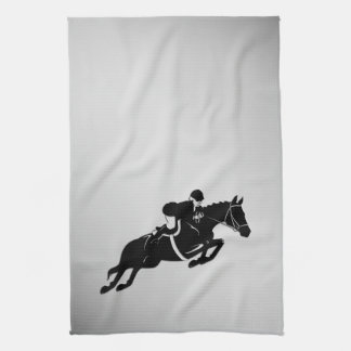 Equestrian Jumper Kitchen Towel