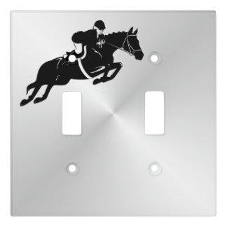 Equestrian Jumper Light Switch Cover