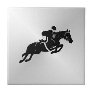 Equestrian Jumper Tile