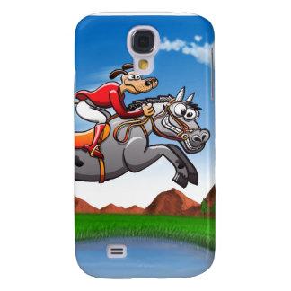 Equestrian Jumping Dog