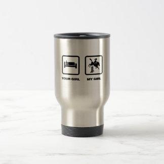 Equestrian 15 Oz Stainless Steel Travel Mug
