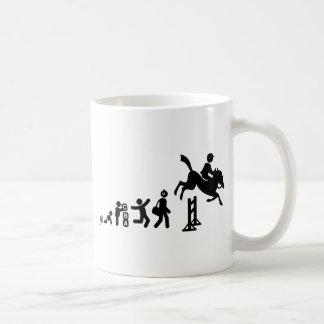 Equestrian Classic White Coffee Mug