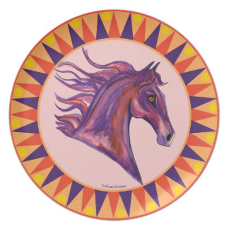 Equestrian Passion Dinner Plate