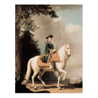 Equestrian Portrait of Catherine II Postcard