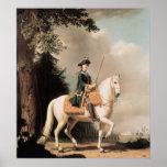 Equestrian Portrait of Catherine II Poster