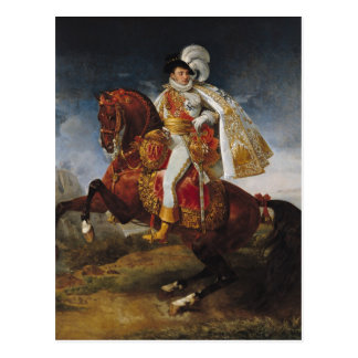 Equestrian Portrait of Jerome Bonaparte  1808 Postcard