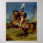 Equestrian Portrait of Joachim Murat  1812 Poster