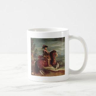 Equestrian Portrait of Philip IV Coffee Mug