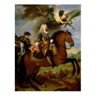 Equestrian Portrait of Philip V Postcard