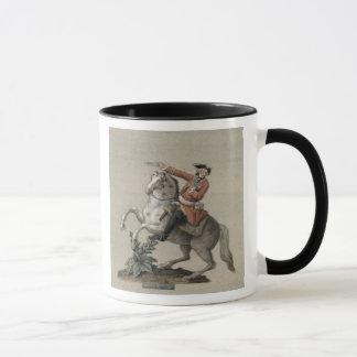 Equestrian portrait of Prince Charles Mug