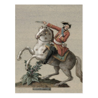 Equestrian portrait of Prince Charles Postcard