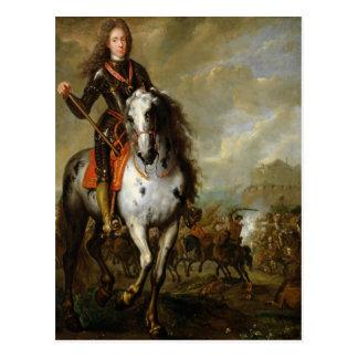 Equestrian Portrait of Prince Eugene Postcard