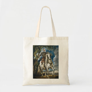 Equestrian Portrait of the Duke of Lerma Rubens Budget Tote Bag