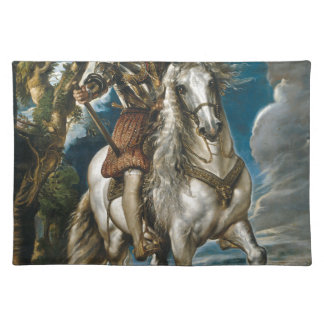 Equestrian Portrait of the Duke of Lerma - Rubens Placemat