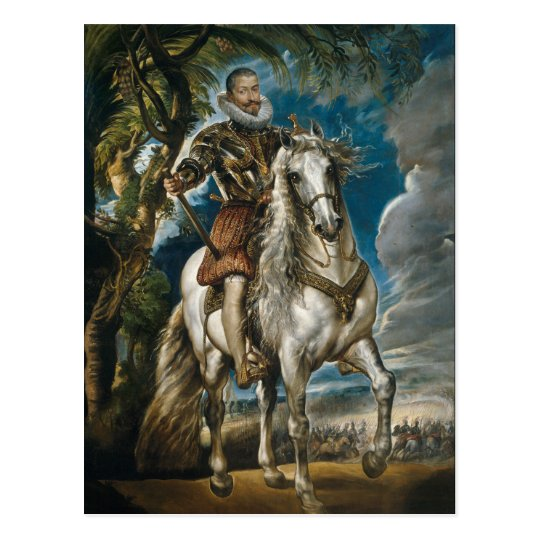 Equestrian Portrait of the Duke of Lerma - Rubens Postcard