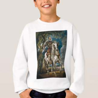 Equestrian Portrait of the Duke of Lerma - Rubens Sweatshirt
