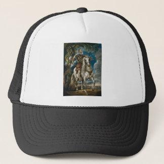 Equestrian Portrait of the Duke of Lerma - Rubens Trucker Hat