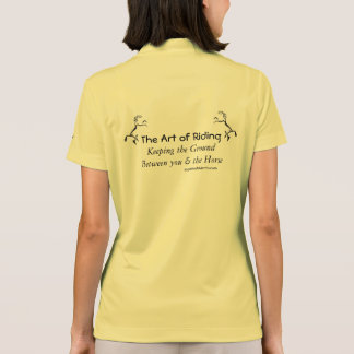 Equestrian sport is an art indeed. polos
