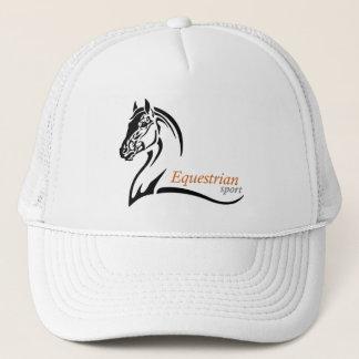 equestrian sport trucker hat