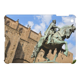 Equestrian statue in Barcelona, Spain iPad Mini Covers