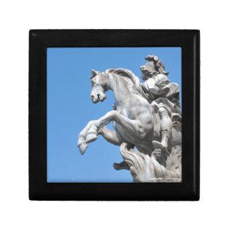Equestrian statue keepsake box