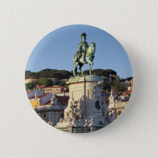 Equestrian statue of King José I, Lisbon 2 Inch Round Button