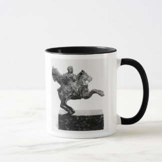 Equestrian statuette of Alexander the Great Mug