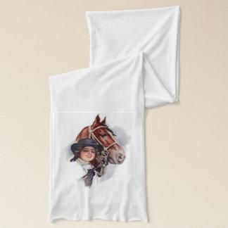 Equestrian Woman Scarf