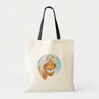 Equi-toons 'Cheeky Chappie' horse companion . Tote Bag