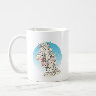 Equi-toons 'Domino' Appaloosa horse companion Coffee Mug