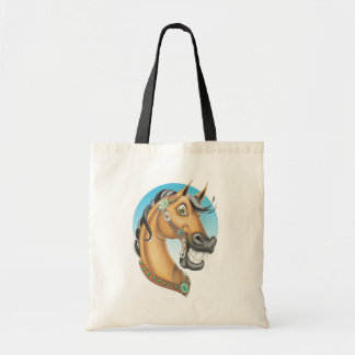 Equi-toons 'Western Showstopper' horse companion Tote Bag