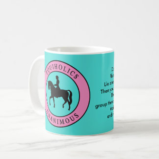 Equiholics Unanimous English Rider 1 Coffee Mug