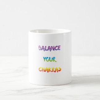 Équilibrez votre tasse de chakras