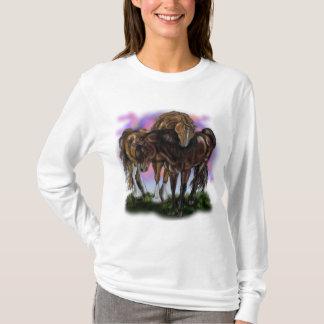 Equine Devotion sunset horses~shirt T-Shirt