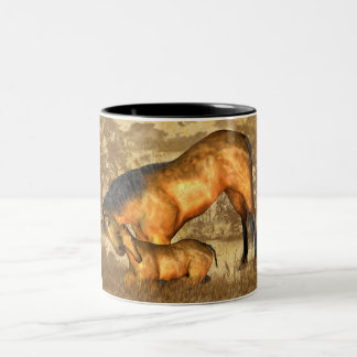 Equine Fine Art Mug - Horse And Foal