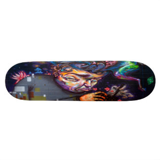 Equine Herbal Alchemy - Streetart Skate Deck