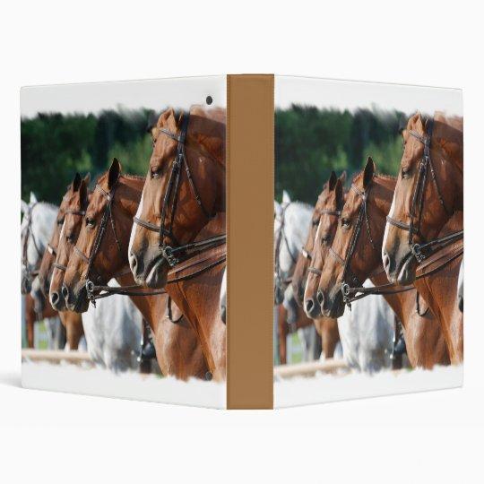 Equine Horse Show Binder