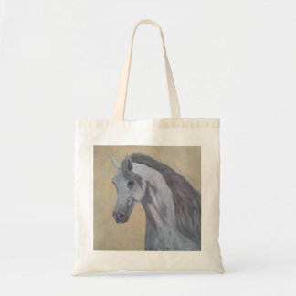 Equine oil painting. tote bag