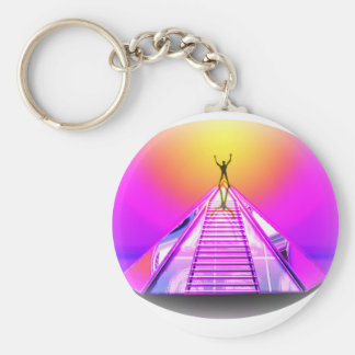 Equinox Mystic Pyramid Key Chain