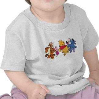 Équipage de Winnie the Pooh T-shirts
