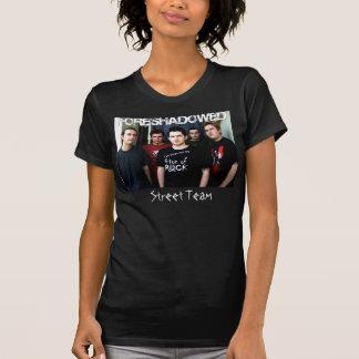 Équipe annoncée de rue t-shirt