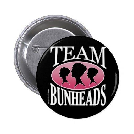 Équipe Bunheads (personnalisable) Pin's Avec Agrafe